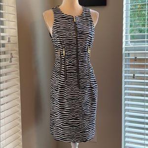 Michael Michael Kors zebra print sleeveless dress